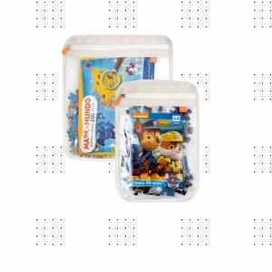 Kit Organizador de Brinquedos para Quebra Cabeças Momis Petit - Branco