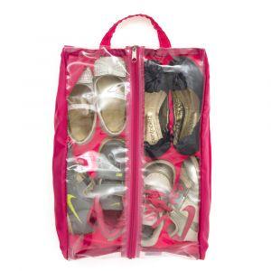Organizador de calçados - rosa